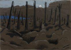 Sunrise: Inverness Copse | Paul Nash | Oil Painting