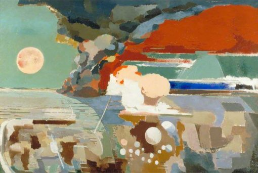 Battle of Germany   Paul Nash   Oil Painting
