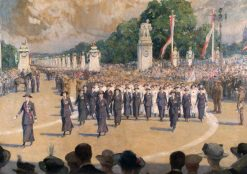 The Voluntary Aid Detachments: Peace Procession
