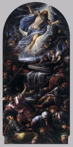 Resurrection of Christ | Francesco Bassano the Younger | Oil Painting