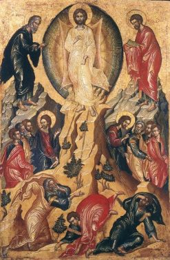 Transfiguration of Christ   Byzantine School Unknown   Oil Painting