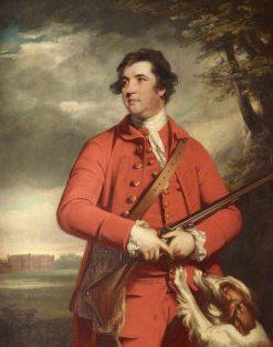 Sir Charles Davers   Sir Joshua Reynolds   Oil Painting