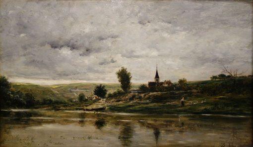 Banks of the Oise | Charles Francois Daubigny | Oil Painting
