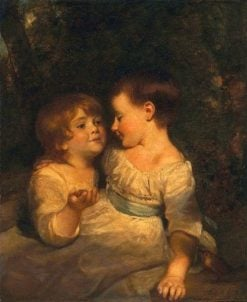 The Vandergucht Children | Sir Joshua Reynolds | Oil Painting