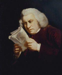 Samuel Johnson ('Blinking Sam') | Sir Joshua Reynolds | Oil Painting