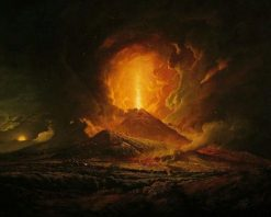 Vesuvius from Portici | Joseph Wright of Derby | Oil Painting