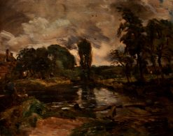Flatford Mill from the Lock | John Constable | Oil Painting