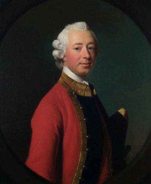 General Sir Henry Erskine   Allan Ramsay   Oil Painting