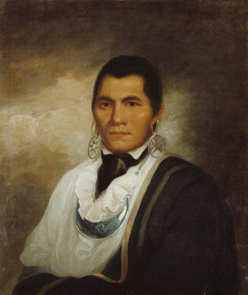 Portrait of a Cherokee Indian | William Hodges | Oil Painting