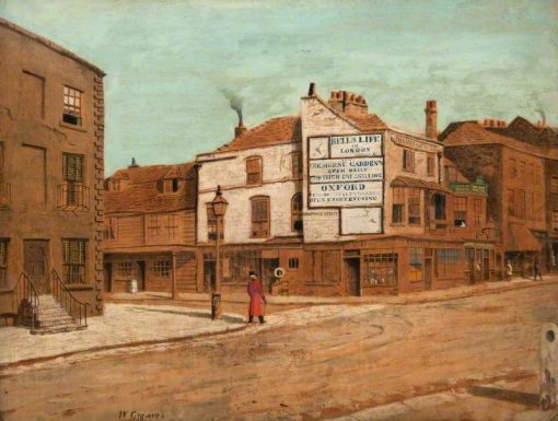 Lawrence Street: A Chelsea Pensioner | Walter Greaves | Oil Painting