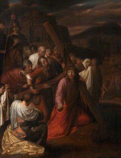Christ and the Women of Jerusalem | Samuel van Hoogstraeten | Oil Painting