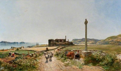 A Sunny Day in Iona | Samuel Bough | Oil Painting