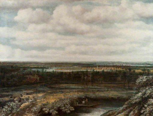Landscape in Holland | Philips Koninck | Oil Painting