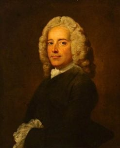Edward Nourse the Younger (d.1760)   Joseph Highmore   Oil Painting