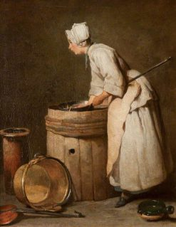 The Scullery Maid | Jean Baptiste Simeon Chardin | Oil Painting