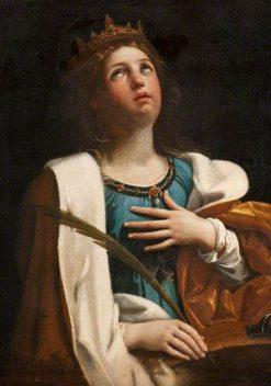 Saint Catherine | Guido Reni | Oil Painting