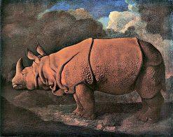 Indian Rhinoceros | George Stubbs | Oil Painting