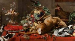 Still Life with Dead Game | Frans Snyders | Oil Painting