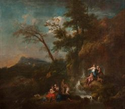 The Hunting of Actaeon by Diana | Francesco Zuccarelli | Oil Painting