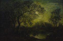 Landscape with Moon | Ralph Albert Blakelock | Oil Painting