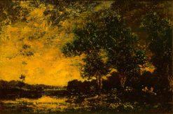 Threatening Sky | Ralph Albert Blakelock | Oil Painting