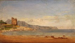 View of Capri | Jasper Francis Cropsey | Oil Painting