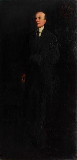 Dr Wynkoop   George Luks   Oil Painting