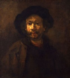 Self Portrait (Workshop) | Rembrandt van Rijn | Oil Painting