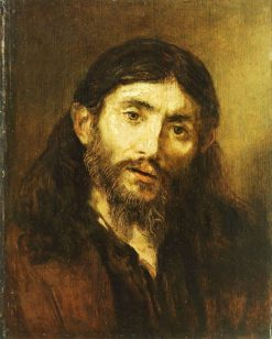 Bust of Christ (follower) | Rembrandt van Rijn | Oil Painting