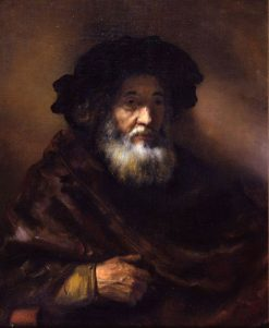 Portrait of an Old Man (follower) | Rembrandt van Rijn | Oil Painting