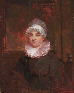 Elizabeth Ann Breese Morse (Mrs. Jedidiah Morse) (1766-1828) | Samuel Morse | Oil Painting