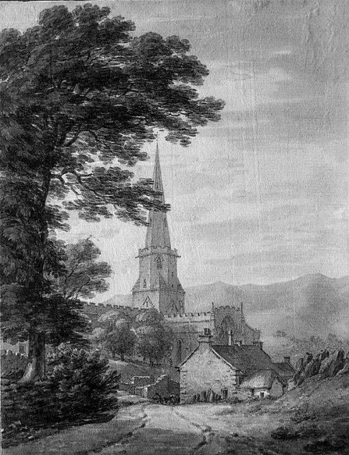 Pristwick Church | Thomas Hearne | Oil Painting