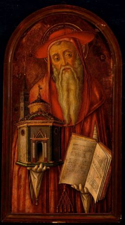 Saint Jerome | Vittore Crivelli | Oil Painting