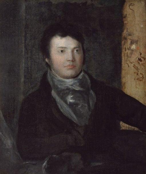 Samuel Taylor Coleridge (1772-1834) | Washington Allston | Oil Painting