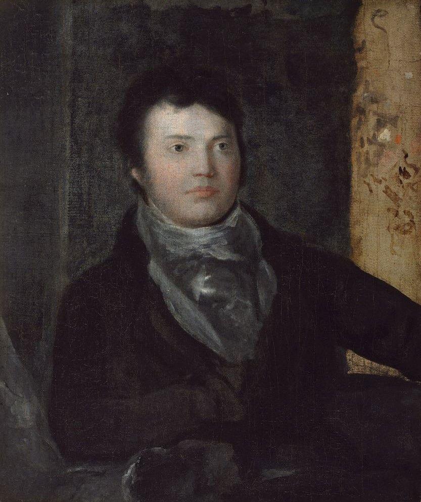 Samuel Taylor Coleridge (1772-1834)   Washington Allston   Oil Painting