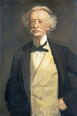 Coventry Patmore (after John Singer Sargent) | Reginald Grenville Eves | Oil Painting