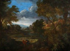 Valley Landscape with a Tempest | Gaspard Dughet | Oil Painting
