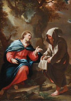 The Devil Tempting Christ to Turn Stones into Bread | Luca Giordano | Oil Painting