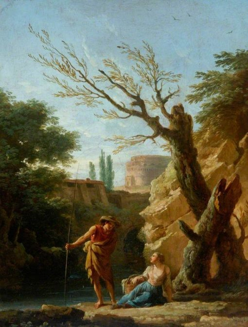 Figures in a Landscape | Claude Joseph Vernet | Oil Painting