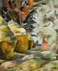 The Stackyard | Paul Nash | Oil Painting