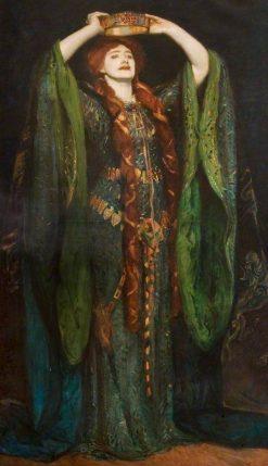 Dame Ellen Terry as Lady Macbeth (after John Singer Sargent) | Reginald Grenville Eves | Oil Painting