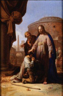 Christ and the Rich Youth | Bartholomeus Breenbergh | Oil Painting
