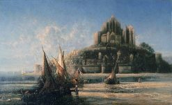 Mont St. Michel | George Loring Brown | Oil Painting