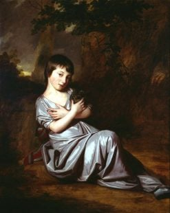 Elizabeth Ward | George Romney | Oil Painting