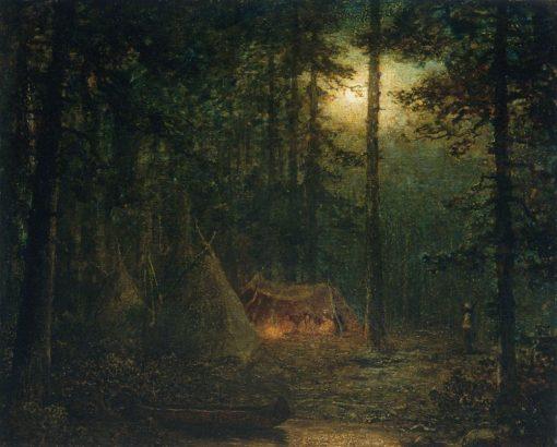 Canadian Indian Hunters | Ralph Albert Blakelock | Oil Painting