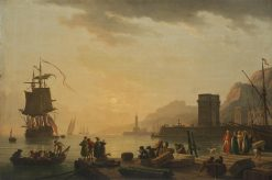 Ancona Harbour | Claude Joseph Vernet | Oil Painting
