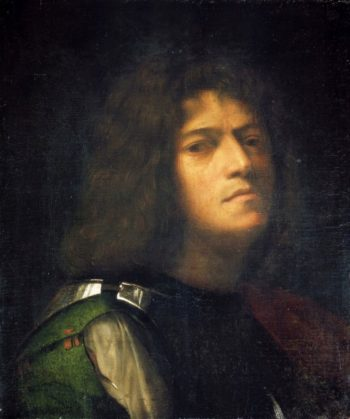 Self Portrait as David with the Head of Goliath | Giorgione | Oil Painting