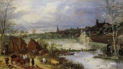 Spring | Jan Brueghel the Elder | Oil Painting