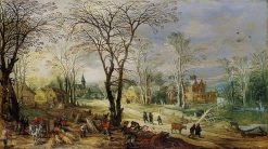 Autumn | Joos de Momper the Younger | Oil Painting