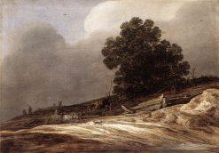 Dunes   Pieter de Molijn   Oil Painting